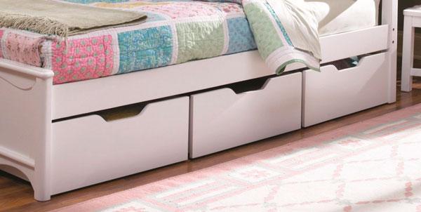 caixas organizadoras embaixo da cama