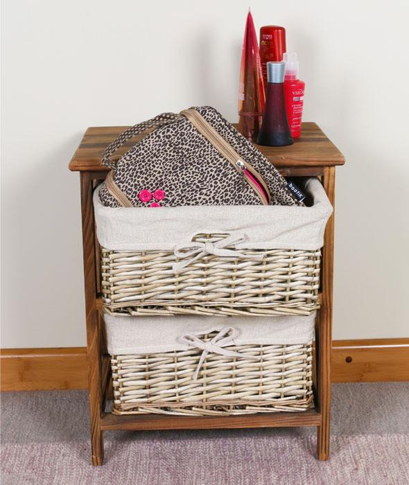 cestos organizadores para quarto