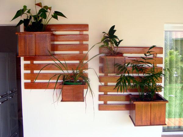 jardim vertical na decoração da casa