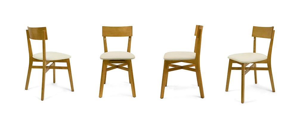 cadeira bell estofada