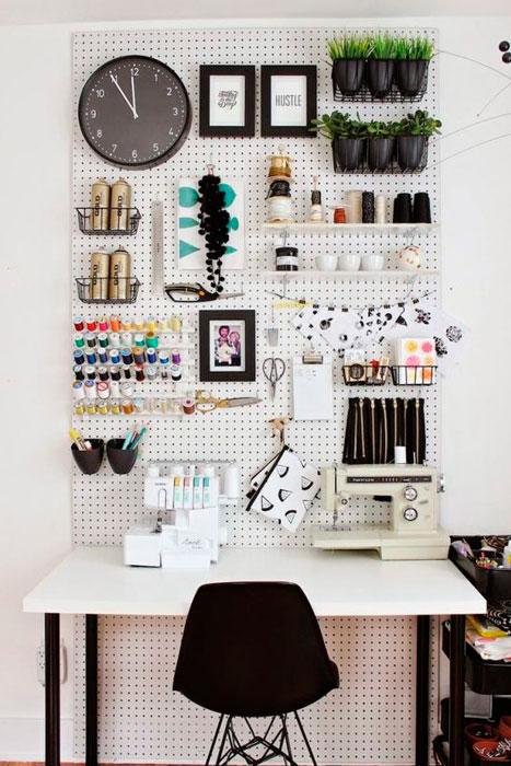decoração de atelier