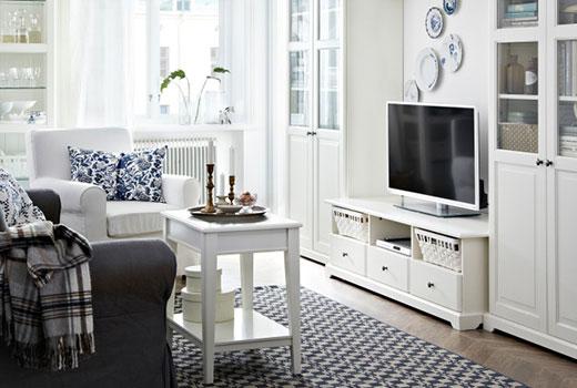 rack para tv Branco