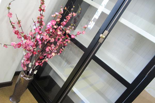 flores na decoração da casa