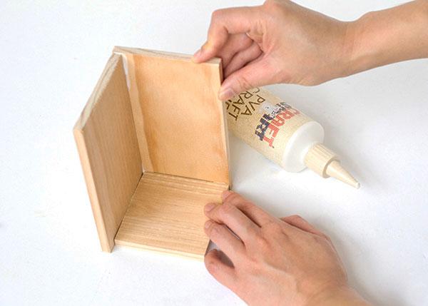 Faça você mesmo um vaso de madeira