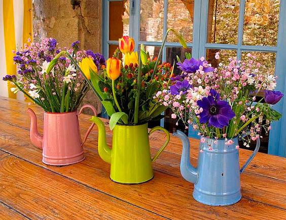 Flores na decoração
