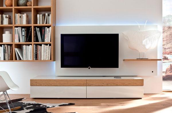 rack para TV na decoração