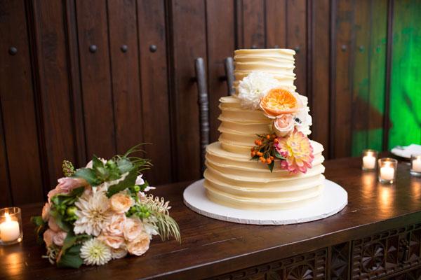 bolo casamento boho