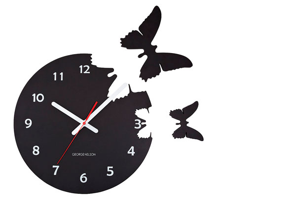 relógios de borboletas