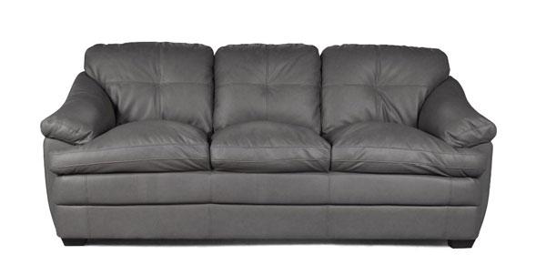 Sofá cinza confortável iaza