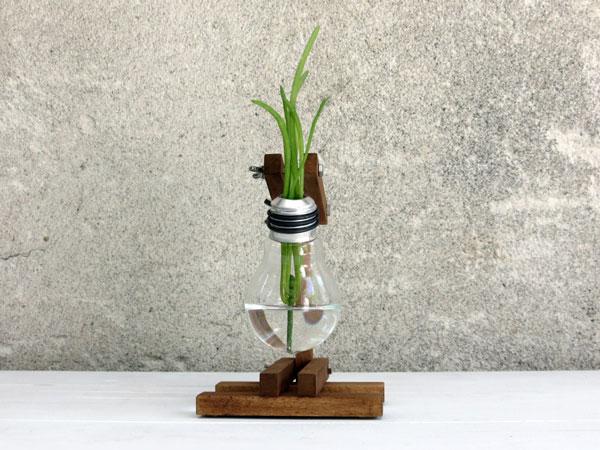 lampadas queimadas recicladas