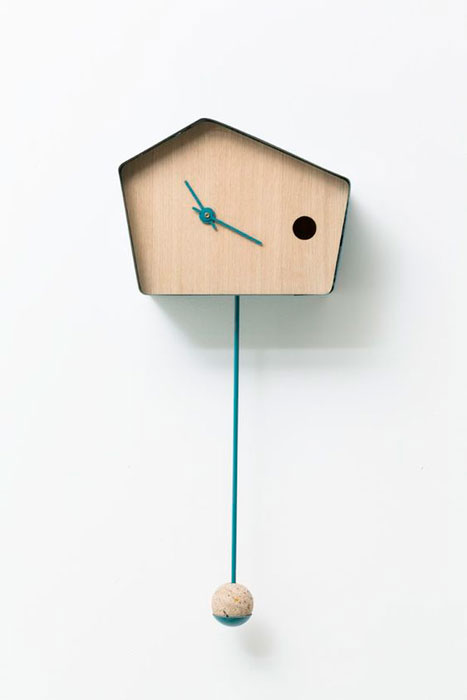 relógio cuco moderno