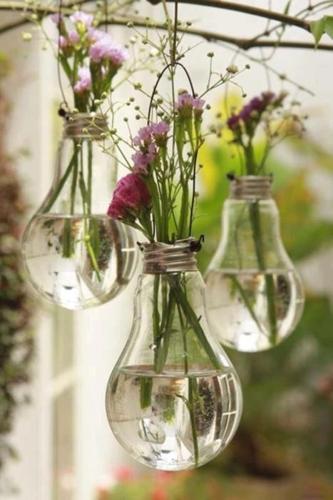 lampadas queimadas na decoração