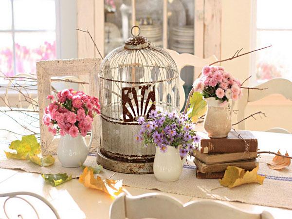 estilo vintage na decoração