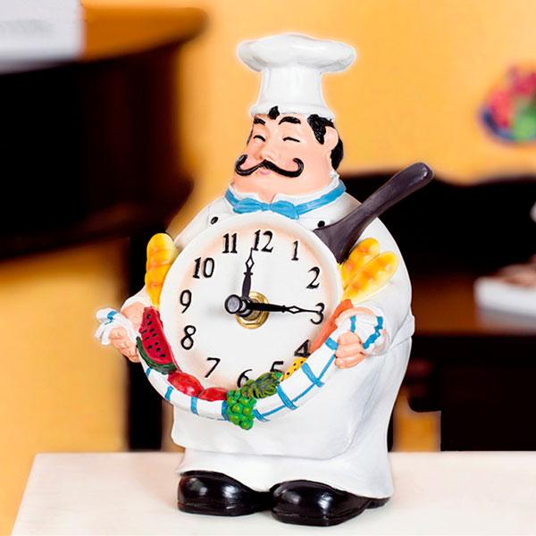 relógio de cozinha na decoração