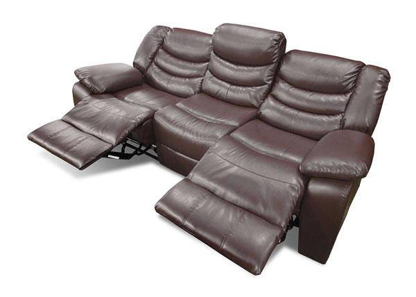 sofá reclinável na decoração