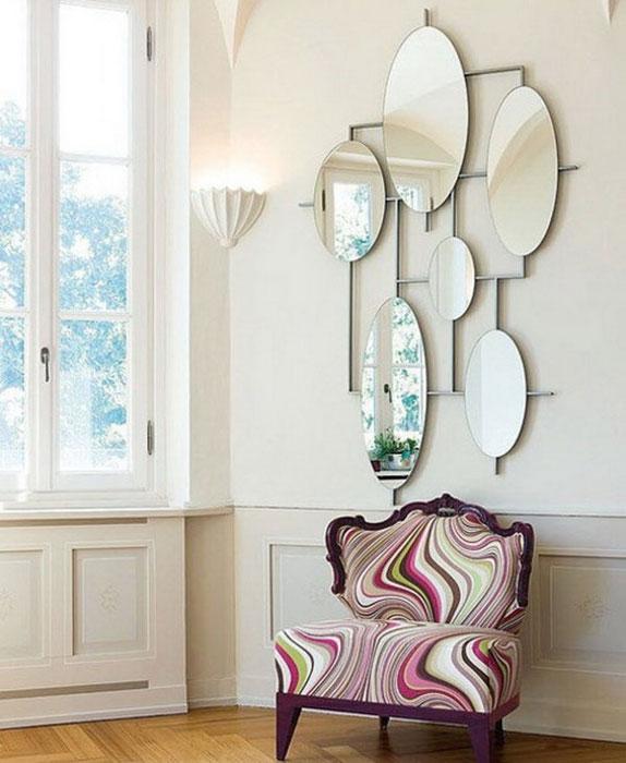 espelhos na decoração compacta