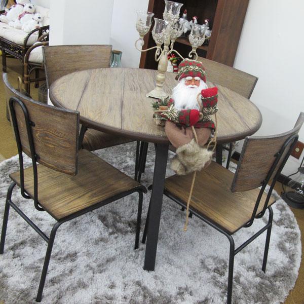 mesa de jantar para o natal