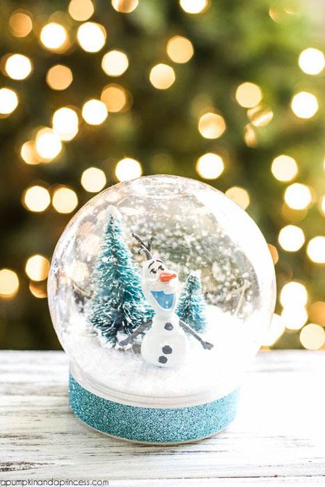 globos de neve de natal