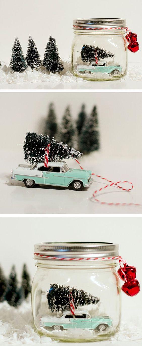 globos de neve natalinos