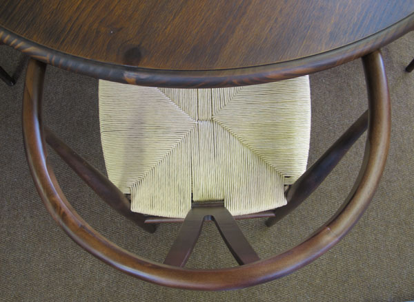 cadeiras de fibra natural