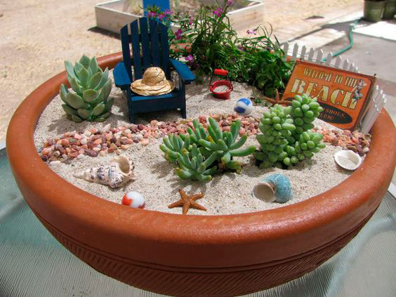 decoração para casa da praia