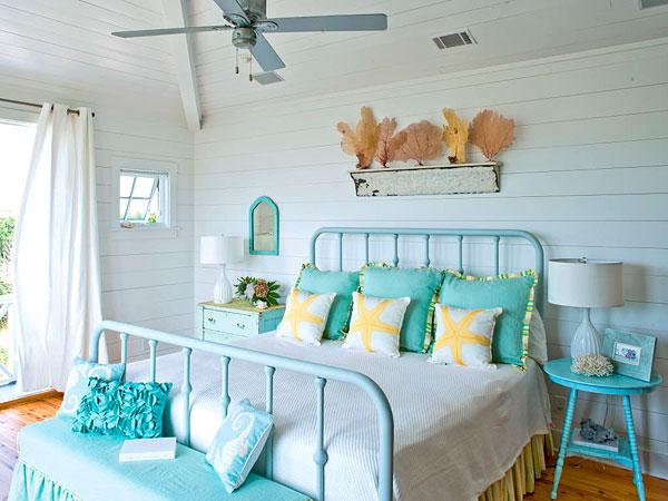 decoração casa de praia