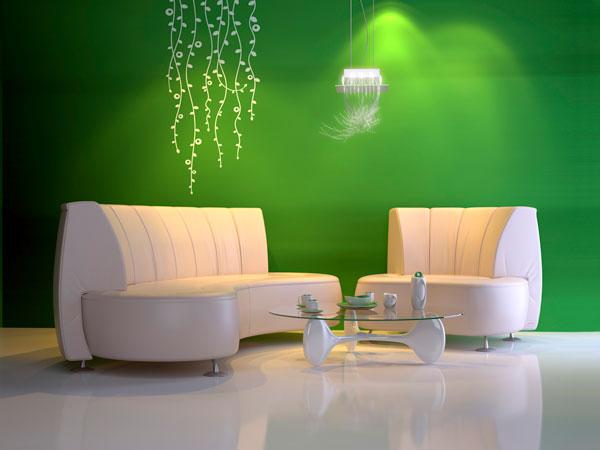 greenery na decoração