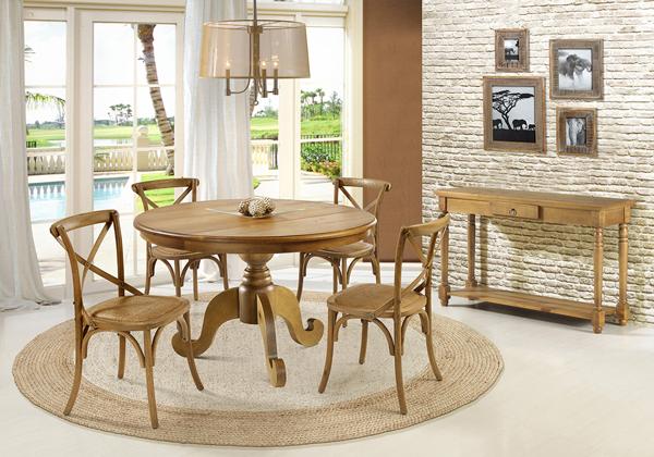 mesa redonda para 4 pessoas