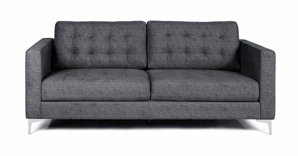 sofá cinza iaza