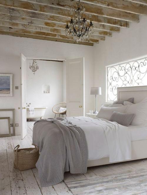 cinza na decoração do quarto