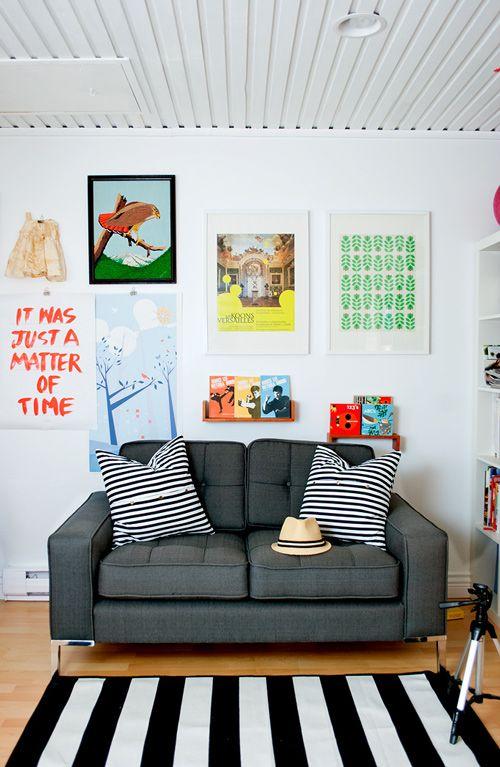 posteres na decoração