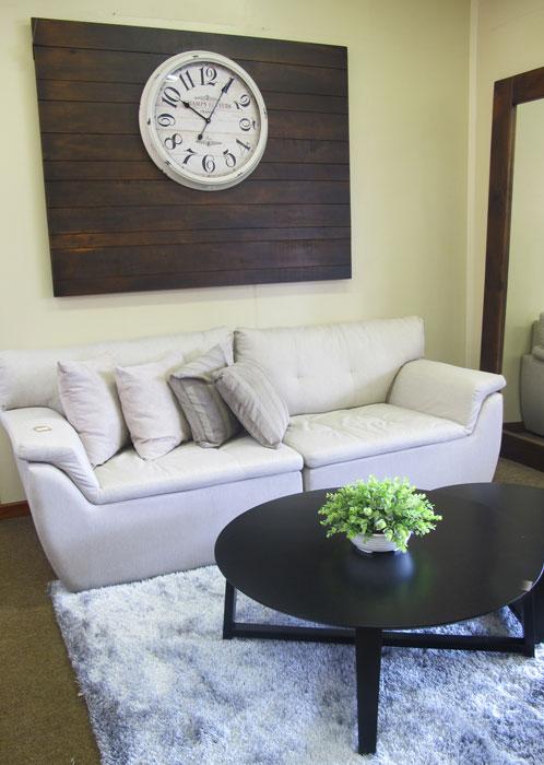 painel de madeira na decoração da casa