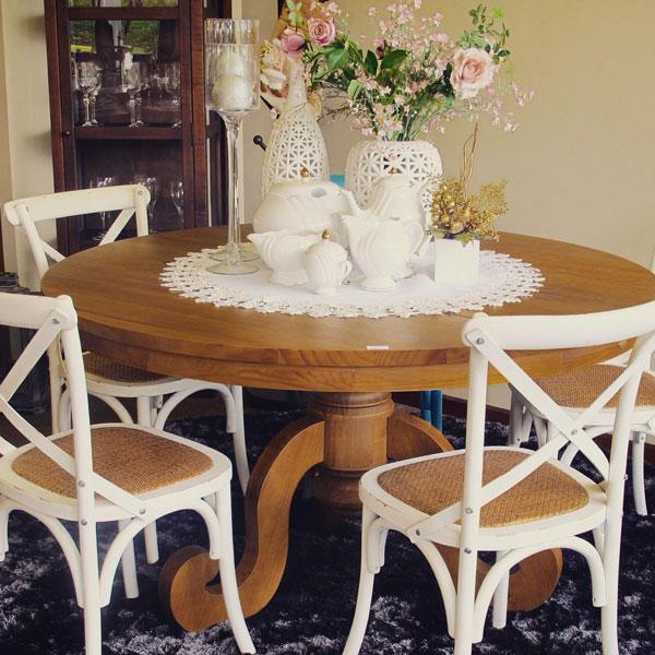louças brancas na decoração