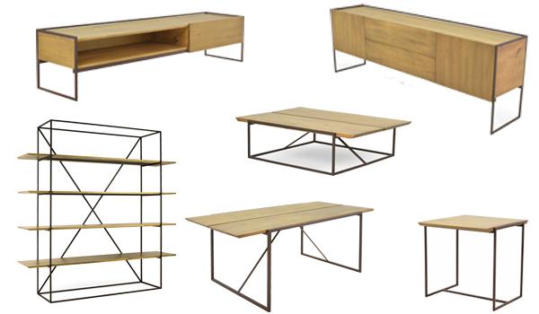Móveis de madeira e ferro-EmersonBorges-LinhaTrunk-Iaza Móveis
