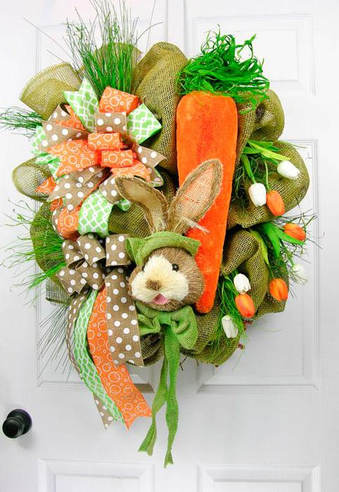 Coelho de páscoa na decoração
