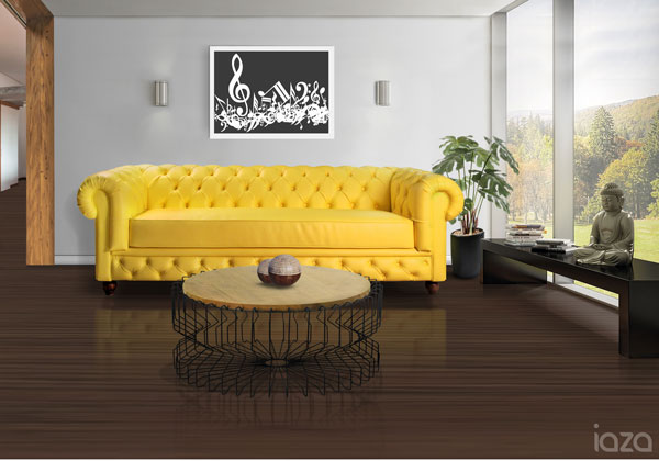 sofá amarelo blog iaza móveis