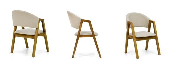 Cadeira com design diferenciado