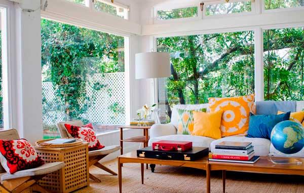 Croche na decoração de interiores
