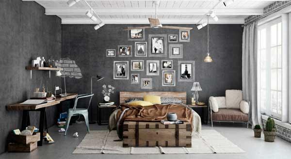 Estilo industrial na decoração de interiores