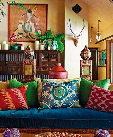 Decoração de interiores estilo oriental
