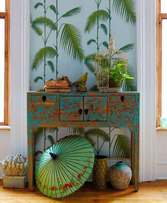 Estilo oriental na decoração de interiores