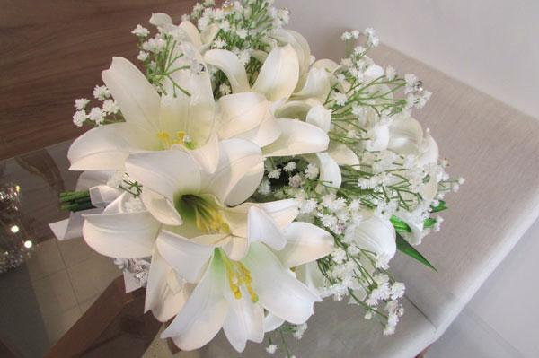 flor angelica em casamento