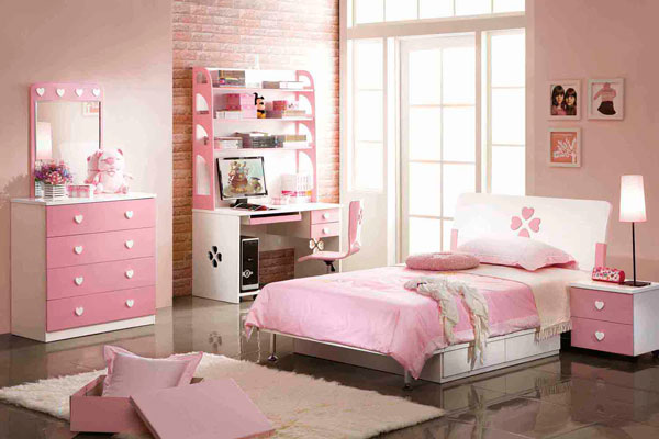 cor de rosa na decoração