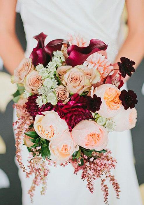 rosas no casamento