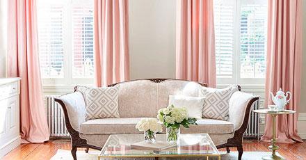 cor-de-rosa na decoração
