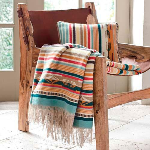 cadeira étnica na decoração