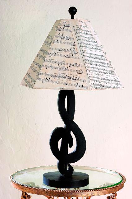 Música na decoração