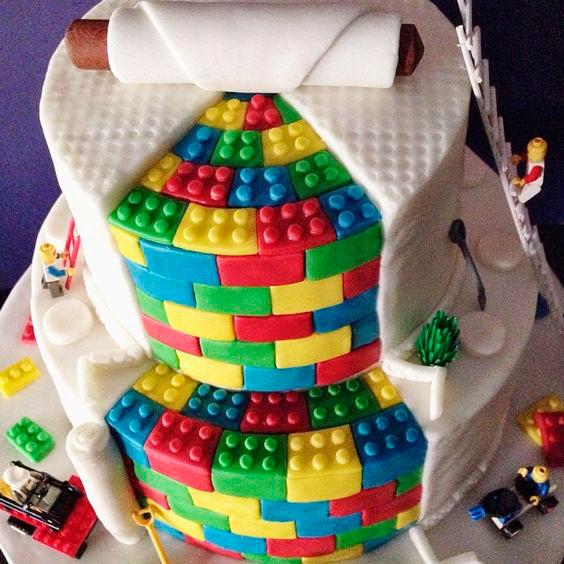 bolo para casamento geek