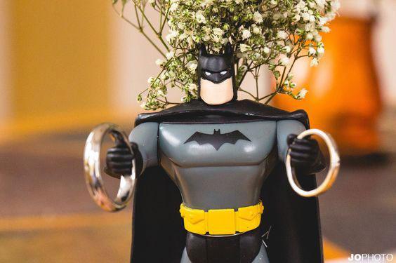 casamento geek batman