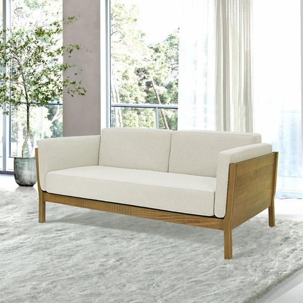 Sofás de madeira Iaza móveis